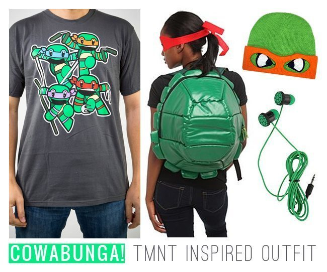 Totally Rad TMNT Inspired Outfit | Stephanie Drenka