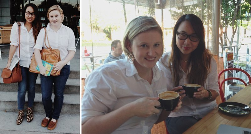 Coffee Shop Casual | Stephanie Drenka