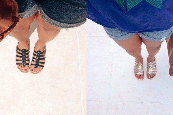 Weekend Edit: Gold Gladiator Sandals   Stephanie Drenka