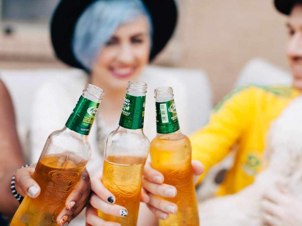 Sunshine, Summertime, and Bud Light Lime® | Stephanie Drenka