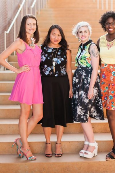 Diversity Chic: Floral Print With Sandals | Stephanie Drenka
