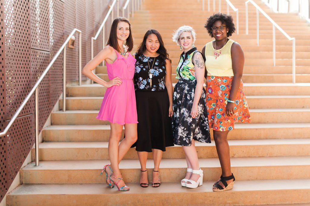 Diversity Chic: Floral Print With Sandals | Stephanie Drenka