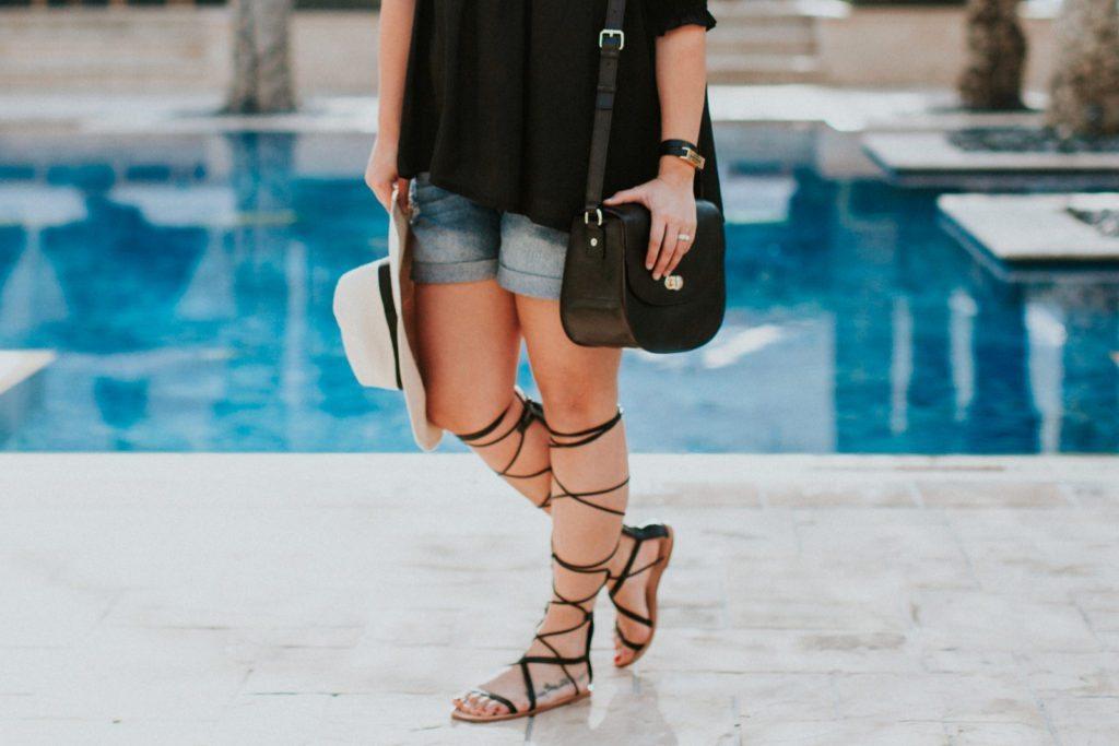 black-off-the-shoulder-top-gladiator-sandals-7130