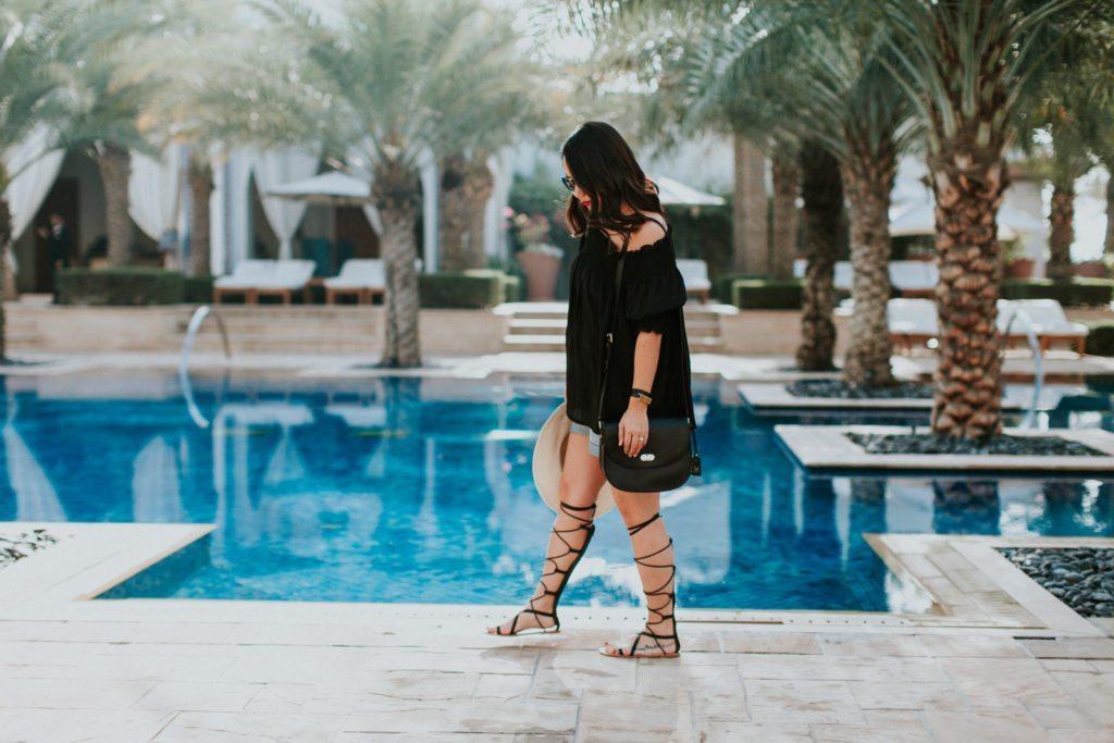 black-off-the-shoulder-top-gladiator-sandals-7152