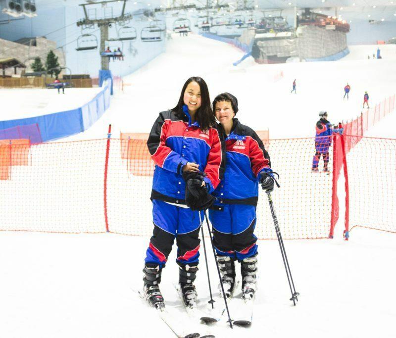 Ski Dubai - Indoor Ski Resort   Stephanie Drenka