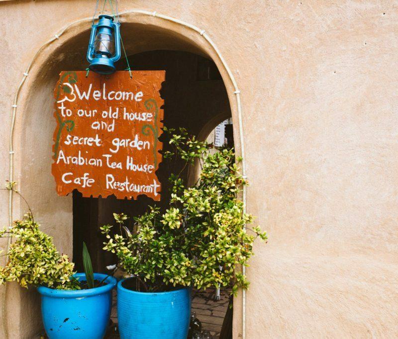 Arabian Tea House Café in Dubai
