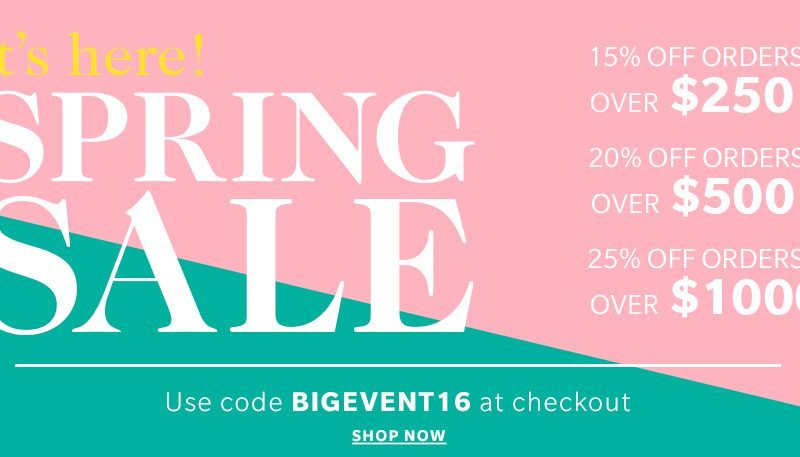Shopbop Spring 2016 Sale - The Basics | Stephanie Drenka