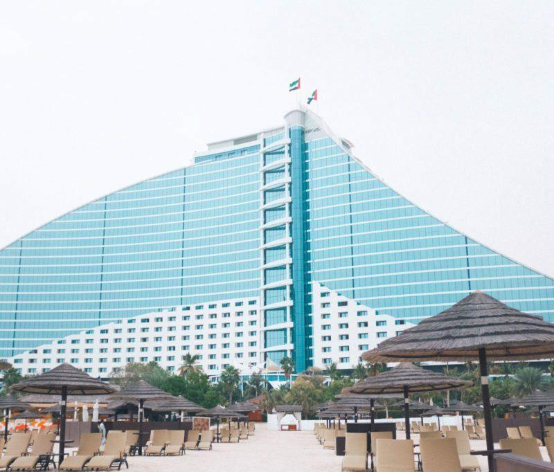 Jumeirah Beach Hotel & Burj al Arab   Stephanie Drenka