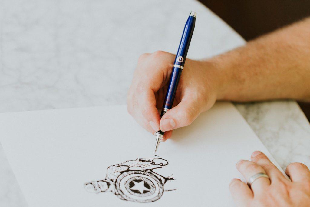 The #WriteGift: CROSS Pens x Marvel   Stephanie Drenka