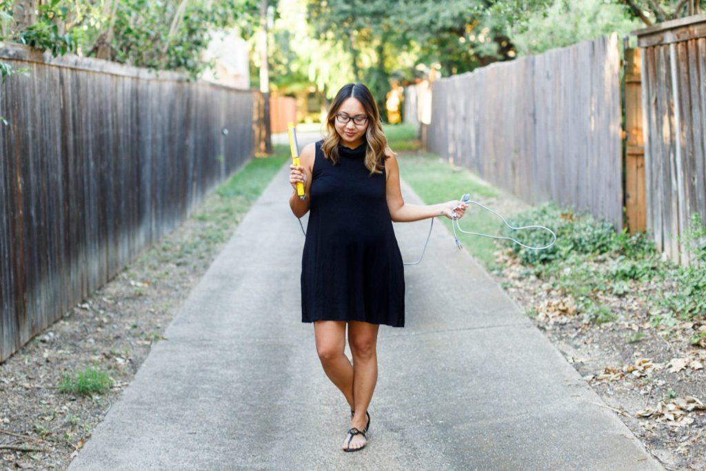 $25 Little Black Dress & Beach Waves   Stephanie Drenka