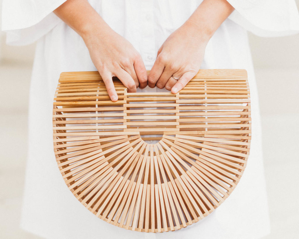 Cult Gaia Ark Bag - Bamboo Carryall