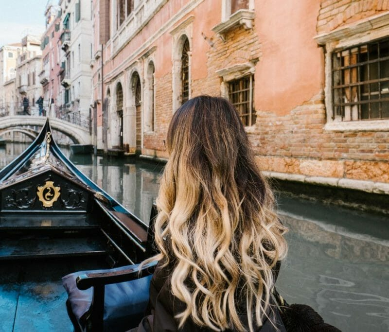 A Romantic Gondola Ride in Venice