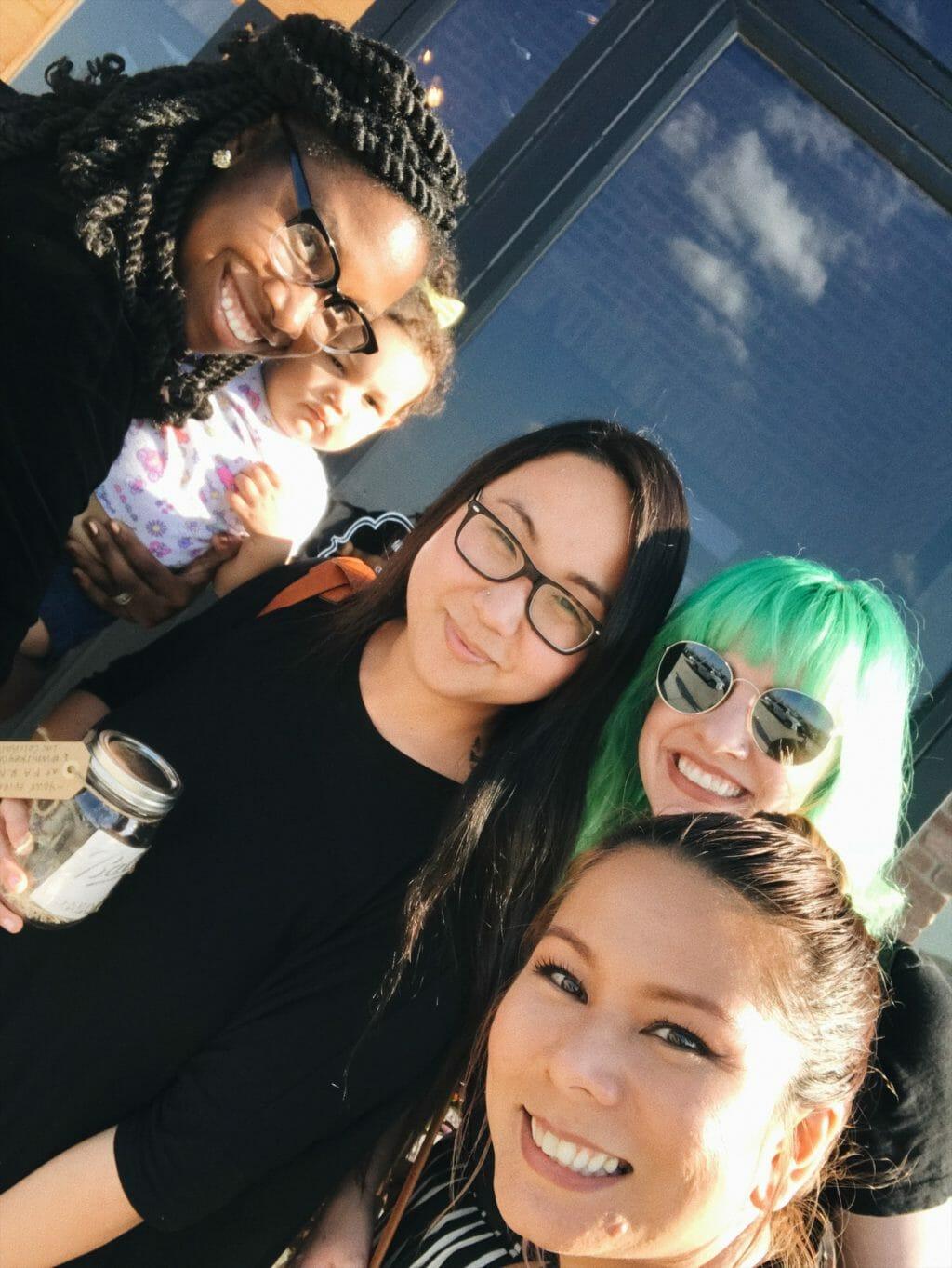 Diversity Chic: Sevi, Stephanie, Valery, Denise