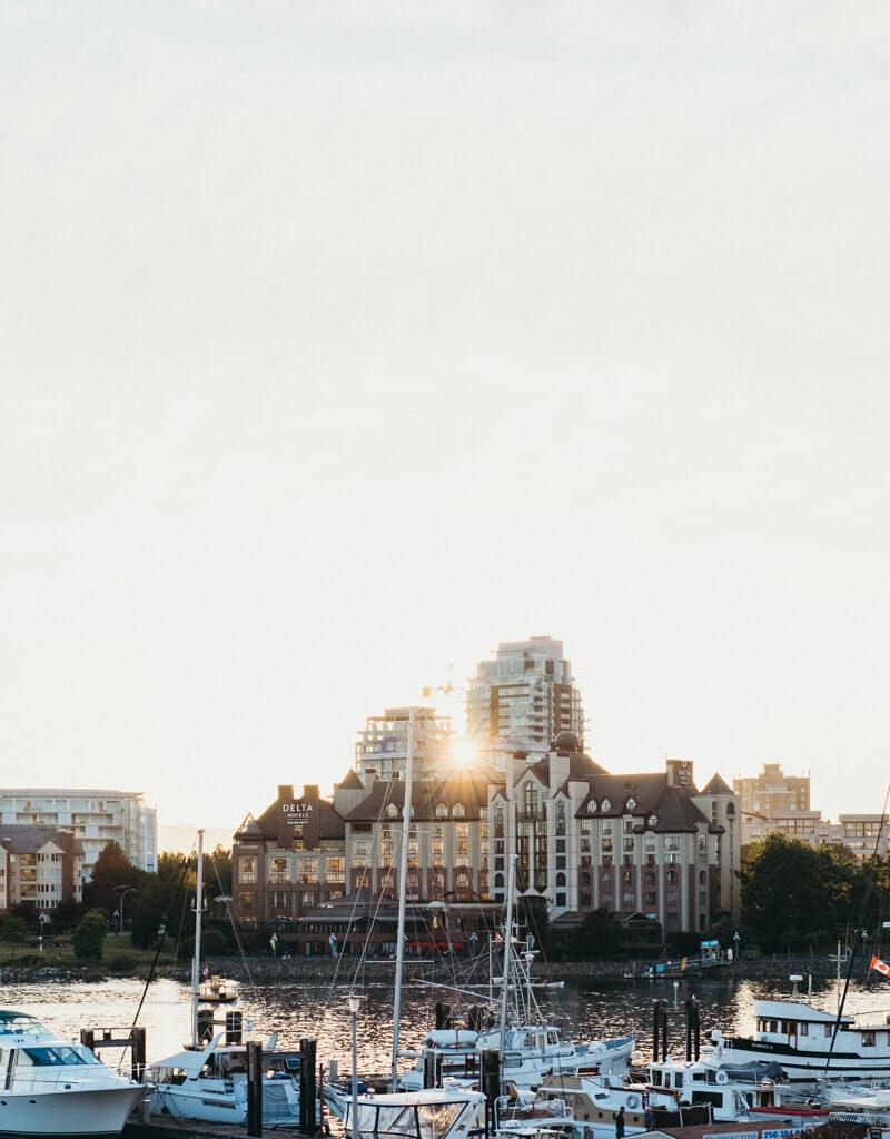 Golden Hour in Victoria, British Columbia
