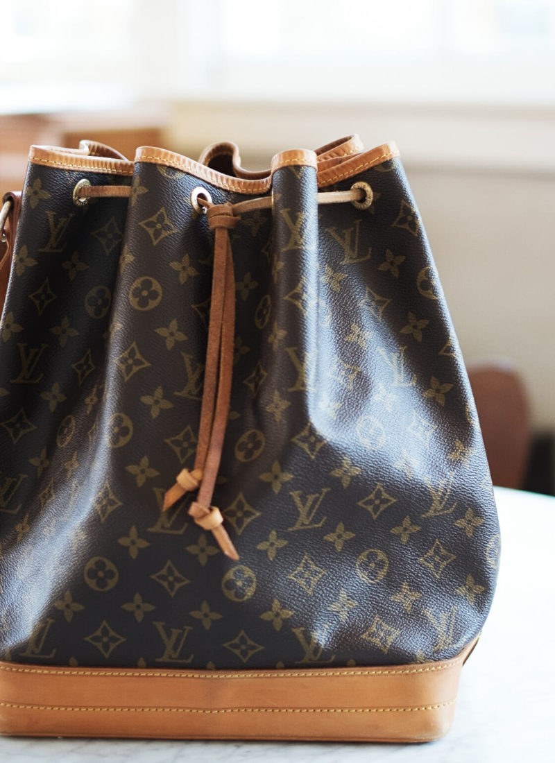 My New (Old) Everyday Bag: Vintage Louis Vuitton Noé