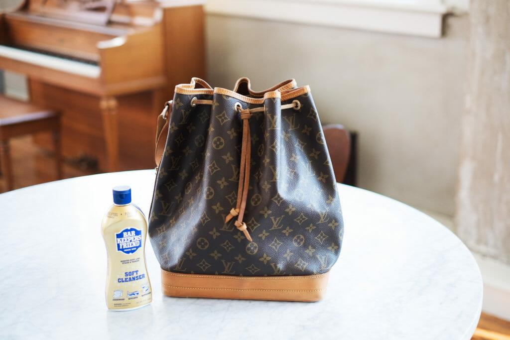 Restoring a Vintage Louis Vuitton Noe Bag